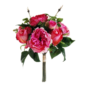 Fucshia Bouquet 12in