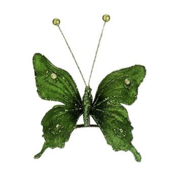 Butterfly Emerald 6in