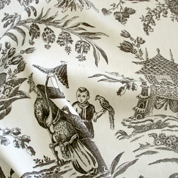 19. Patina Toile Asian Arcadia