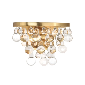 Bling Sconce Brass