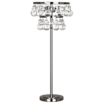 Bling Table Lamp Silver