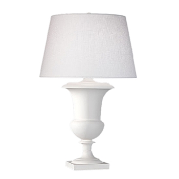 Helena Urn White Table Lamp