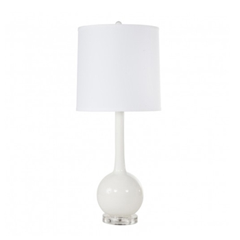 Lydia White Table Lamp