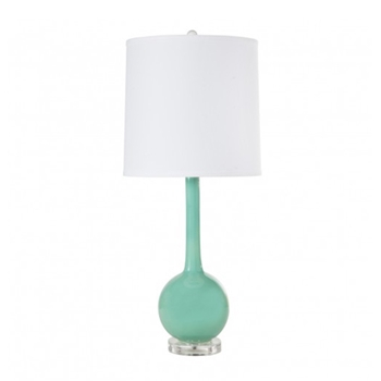 Lydia Turquoise Table Lamp