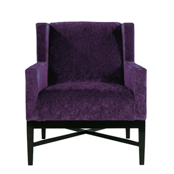Prentis Chair 30W/39D/29H Purple
