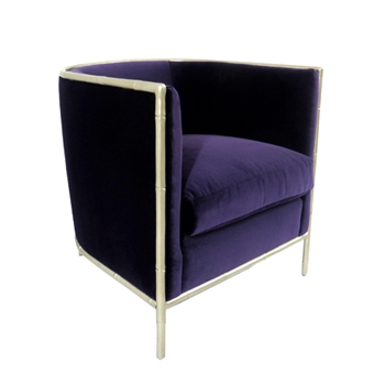 Meredith Chair 27W/30D/30H Purple