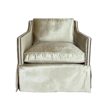 Delano Chair Swivel 30W/39D/30H Pearl