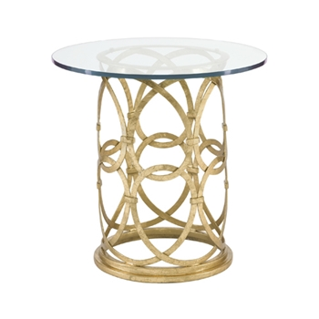 Geneva Table 24RND/24H Gold