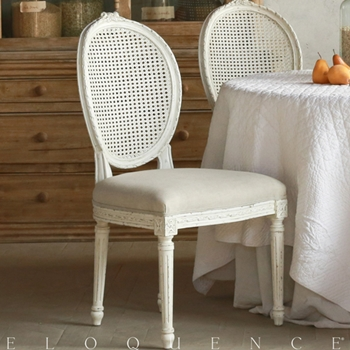 Eloquence® Louis Cane Dining Chair 21W/22D/40H