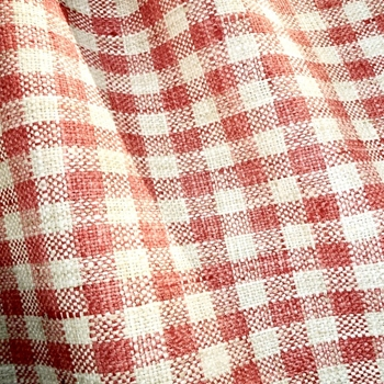 77. Coral Plaid Zippy Coral