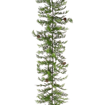 Cypress Pine Garland 65in