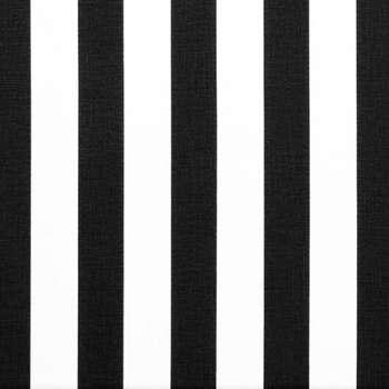 16. Blk/White Stripe Canopy 1.5in