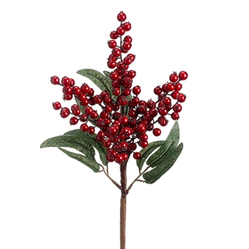 81. Ruby Eucalyptus Berry 17in
