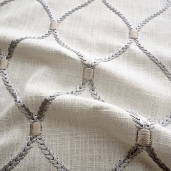 02. Ivory Embroidered Deane Sterling