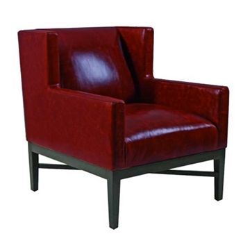 Prentis Chair 30W/39D/29H Red