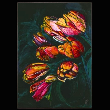 40W/57H Still Life With Tulips Kelly O'Neal