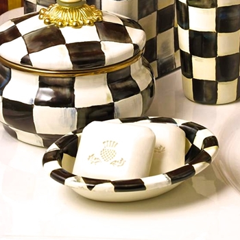 Courtly Soap Dish 5.5W/4D Oval