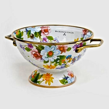 Colander Flower MKT WHT 6IN