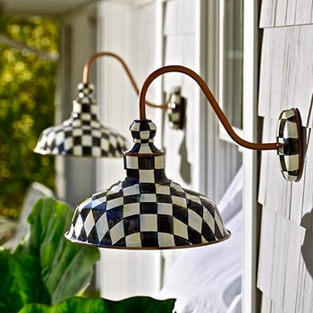 Lamp Courtly Barn Sconce 12W/12H/17D