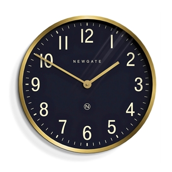 Wall Clock Newgate Mr Edwards Brass 18IN