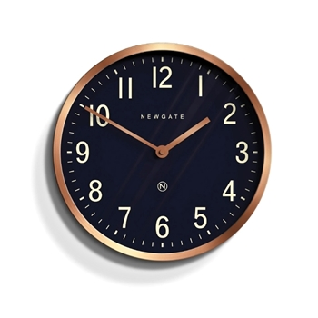 Wall Clock Newgate Master Edwards Copper 12IN