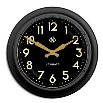 Wall Clock Newgate Giant Electric Matt 24IN