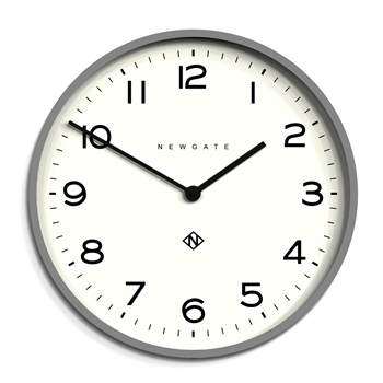 Wall Clock Newgate Echo Posh Grey 21IN