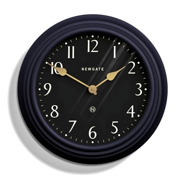 Wall Clock Newgate Pimlico Blue 16IN