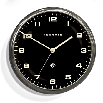 Wall Clock Newgate Chrysler Stainlss/BLK 16IN
