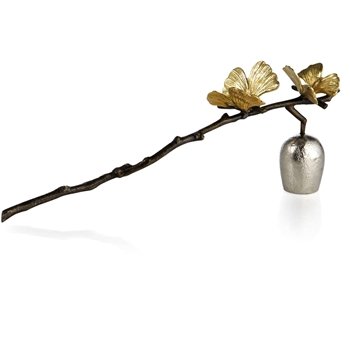 Aram Butterfly Gingko Candle Snuff  11L/4H