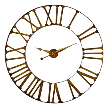 Wall Clock Kaison Bronze/Gold 60RND