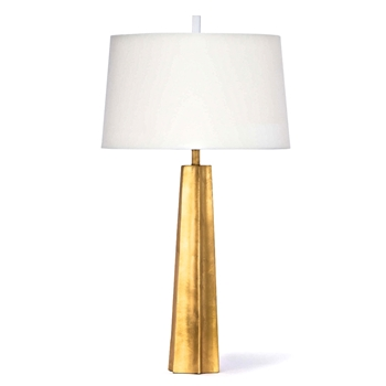 Lamp Table Celine Gold Leaf 18W/33H