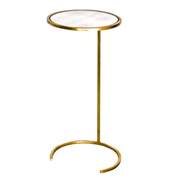 Accent Table Monaco Gold 12W/26H