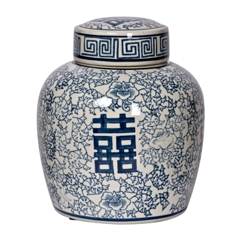 Jar - Delft Berit Ginger 8W/9H