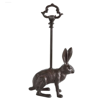 Doorstop Rabbit W/Handle 9W/4D/17H