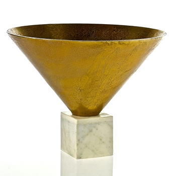 Bowl - Empress Gold 16W/12H