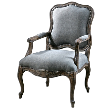 Armchair Willa Bergere Grey 27W/30D/42H