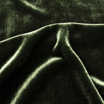 51. Emerald Silk Velvet 45IN