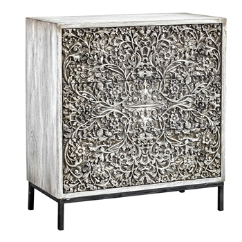 Chest Marina Oyster/Silver 30W/14D/33H