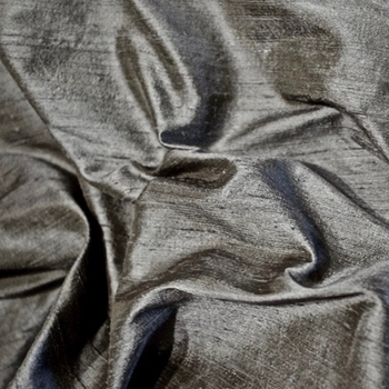 27. Pewter Dupioni Silk Metal 54IN