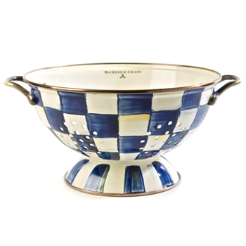 Royal Check Colander Large 10in