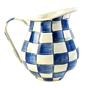 Royal Check Pitcher 3QT