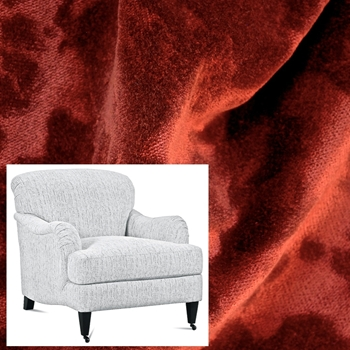 Armchair London Cayenne Velvet 33W/40D/34H