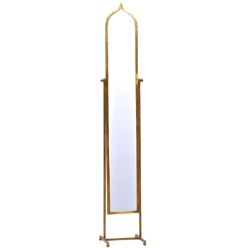 13W/72H Mirror - Cheval Fez Gold Finish