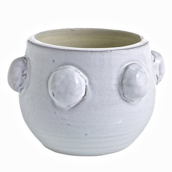 Planter - Fem Rosa Pot White 5W/4H