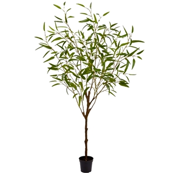 Bamboo Leaf Tree 70in Plastic Pot