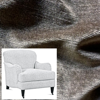 Armchair London Taupe Velvet 33W/40D/34H