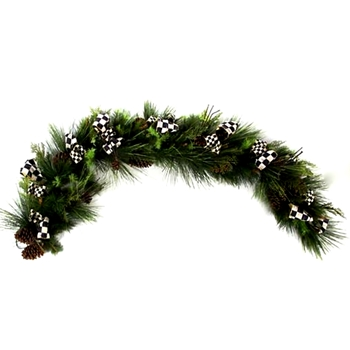 10. Underpinnings Garland 72in