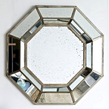 40W/40H Mirror Octagon Mercury