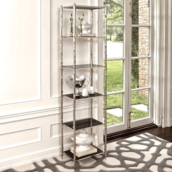 Etagere - Arbor Nickel/Granite 20W/14D/80H